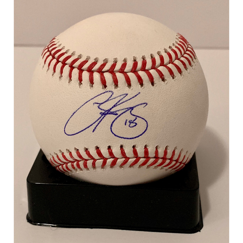 Photo of Carson Kelly Autographed Ball