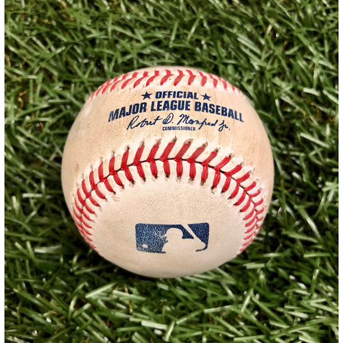 Photo of Rays Baseball Foundation: Game Used Home Run Baseball - Christian Vazquez - September 13, 2020 v BOS