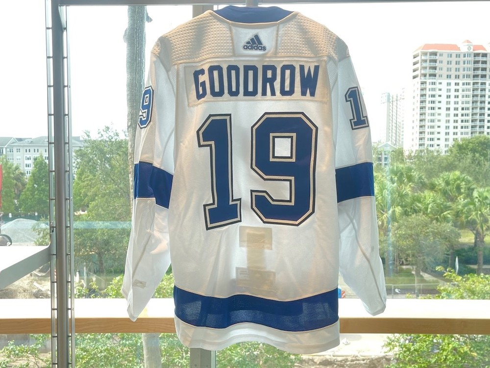 #19 Barclay Goodrow Tampa Bay Lightning 2021 Stanley Cup Final Game-Worn Jersey