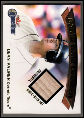 Photo of 2001 Fleer Game Time Lumber #21 Dean Palmer