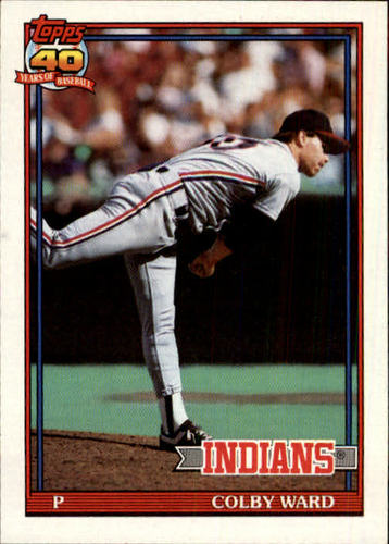 Photo of 1991 Topps #31 Colby Ward RC