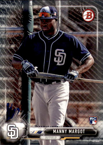 Photo of 2017 Bowman #20 Manny Margot Rookie Card
