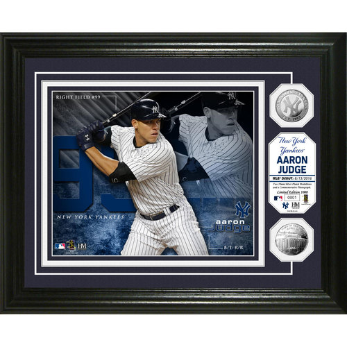 Aaron Judge Silver Coin Photo Mint
