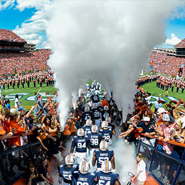 "Photo of Football Gameday ""Smoke Entrance"" Experience Sept. 2, 2017 vs Georgia Southern"