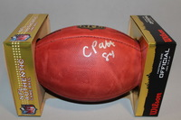 NFL - RAIDERS CORDARRELLE PATTERSON SIGNED AUTHENTIC FOOTBALL