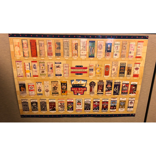 """Photo of Framed """"Tickets to History"""" Print"""