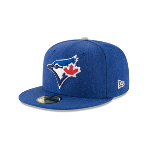 Toronto Blue Jays Heather Hype Fitted Cap by New Era
