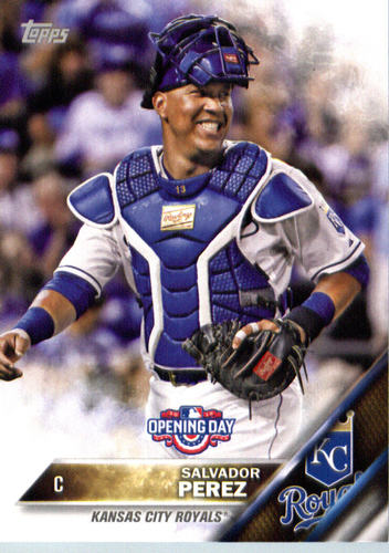 Photo of 2016 Topps Opening Day #OD128A Salvador Perez