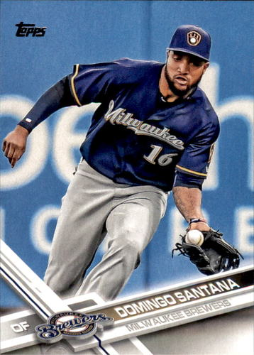 Photo of 2017 Topps #628 Domingo Santana