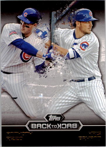 Photo of 2016 Topps Back to Back #B2B2 Kris Bryant/Anthony Rizzo