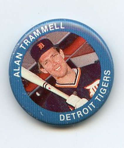 Photo of 1984 Fun Foods Pins #40 Alan Trammell