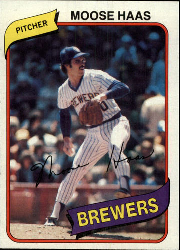 Photo of 1980 Topps #181 Moose Haas