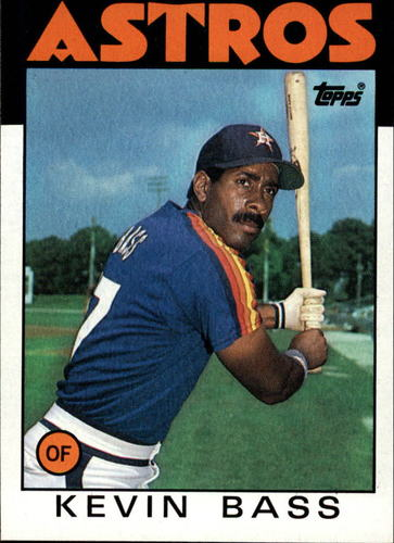 Photo of 1986 Topps #458 Kevin Bass