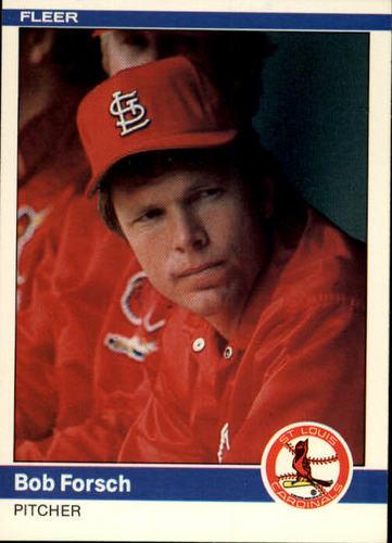 Photo of 1984 Fleer #322 Bob Forsch