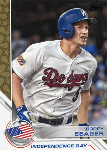 Photo of 2017 Topps Independence Day #ID7 Corey Seager