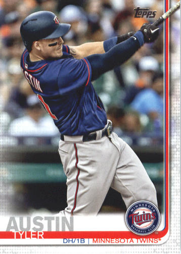 Photo of 2019 Topps #631 Tyler Austin