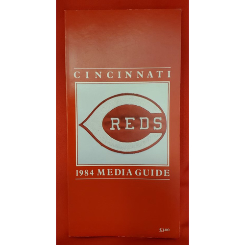 Photo of 1984 Cincinnati Reds Media Guide