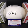 Washington Football - Tress Way Signed Panel Ball