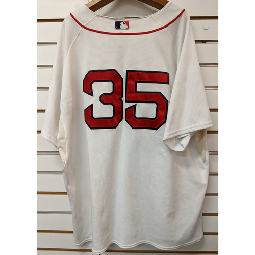 Photo of #35 Team Issued Home White Jersey