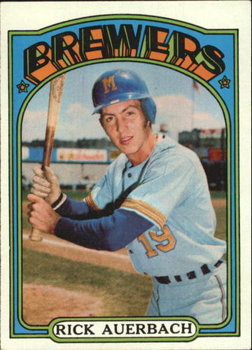 Photo of 1972 Topps #153 Rick Auerbach RC