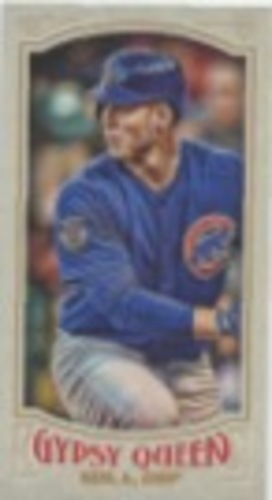 Photo of 2016 Topps Gypsy Queen Mini #89 Anthony Rizzo