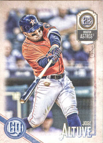Photo of 2018 Topps Gypsy Queen #79 Jose Altuve