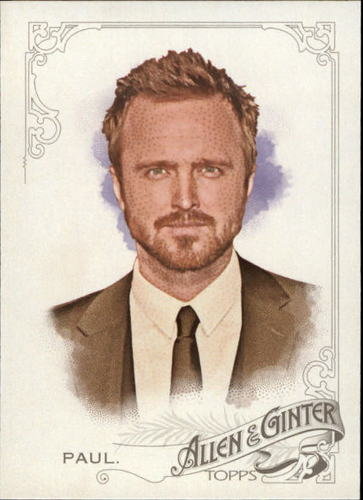 Photo of 2015 Topps Allen and Ginter #347 Aaron Paul
