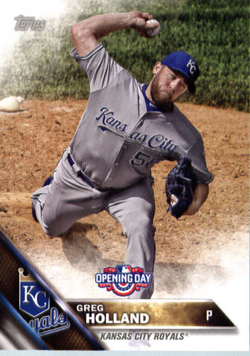 Photo of 2016 Topps Opening Day #OD133 Greg Holland