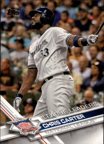 Photo of 2017 Topps #170 Chris Carter LL