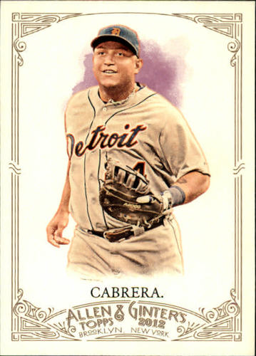 Photo of 2012 Topps Allen and Ginter #3 Miguel Cabrera