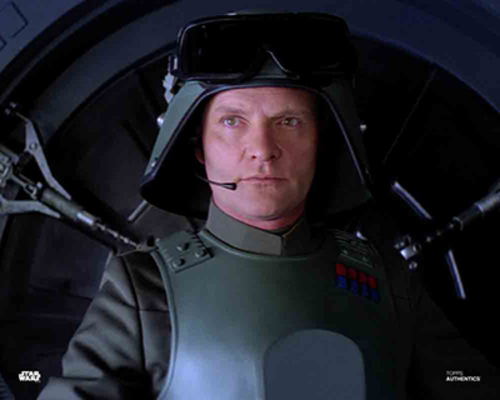 PREORDER Julian Glover As General Veers 8X10 Autographed in Silver Ink Photo