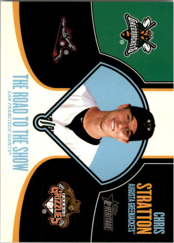 Photo of 2013 Topps Heritage Minors Road to the Show #CST Chris Stratton
