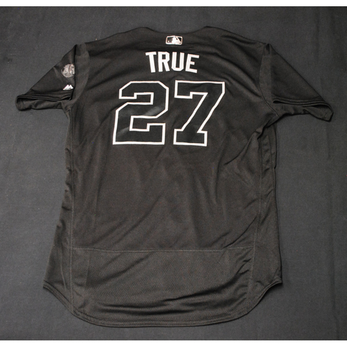 "Photo of Trevor ""TRUE"" Story Colorado Rockies Game-Used 2019 Players' Weekend Jersey"