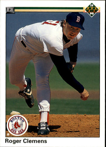 Photo of 1990 Upper Deck #323 Roger Clemens