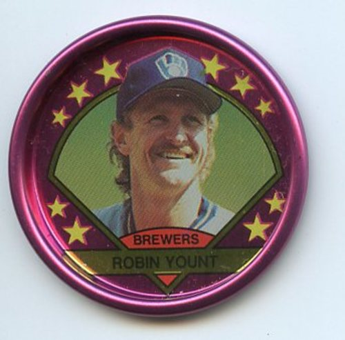 Photo of 1990 Topps Coins #1 Robin Yount