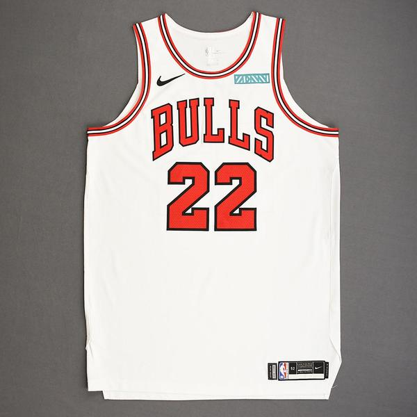 Image of Otto Porter Jr. - Chicago Bulls - Kia NBA Tip-Off 2019 - Game-Worn Association Edition Jersey