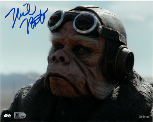 Nick Nolte As Kuiil 8x10 AUTOGRAPHED IN 'Blue' INK PHOTO