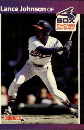 Photo of 1989 Donruss #606 Lance Johnson