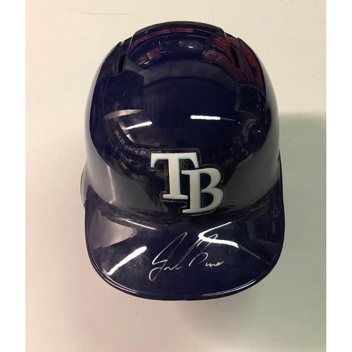 Photo of Team Issued Autographed Helmet: Jalen Beeks