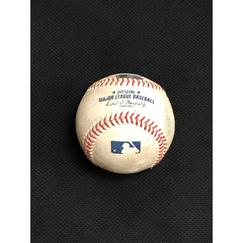 Photo of Game-Used Baseball, 8/2/20 Los Angeles Dodgers at Arizona Diamondbacks: Merrill Kelly vs. A.J. Pollock (Single to David Peralta) and Joc Pederson (Single to Ildemaro Vargas)
