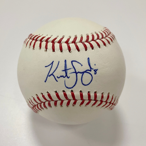 Photo of Kurt Suzuki Autographed Baseball