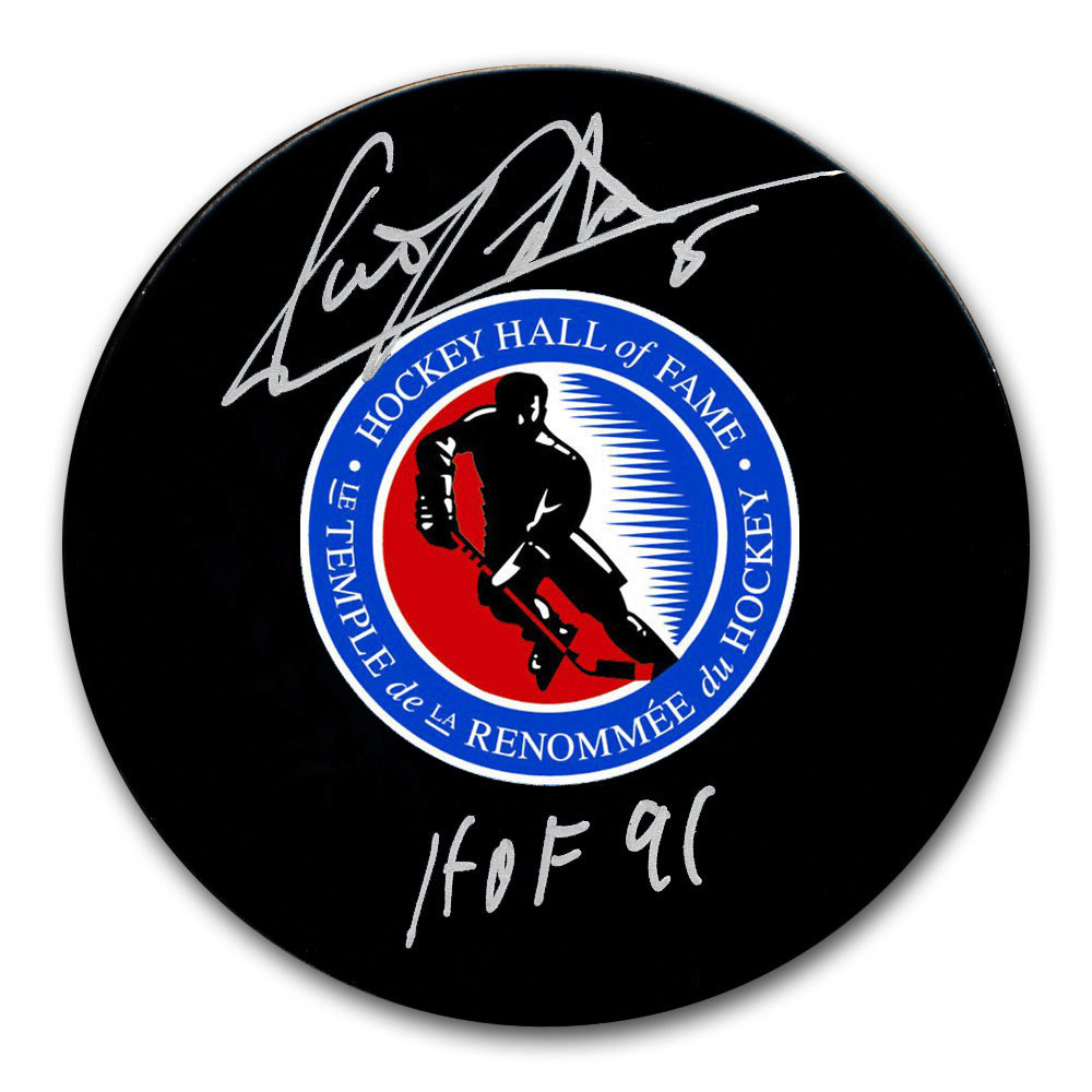 Denis Potvin Hockey Hall of Fame HOF Autographed Puck