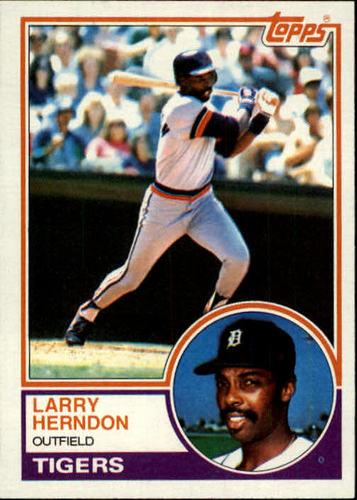 Photo of 1983 Topps #13 Larry Herndon