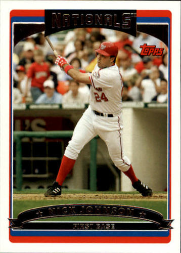 Photo of 2006 Topps #190 Nick Johnson