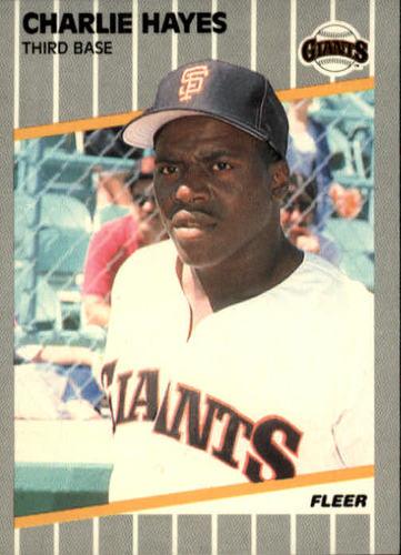 Photo of 1989 Fleer #330 Charlie Hayes RC