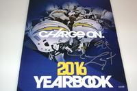 CHARGERS - COREY LIUGET SIGNED 2016 CHARGERS YEARBOOK