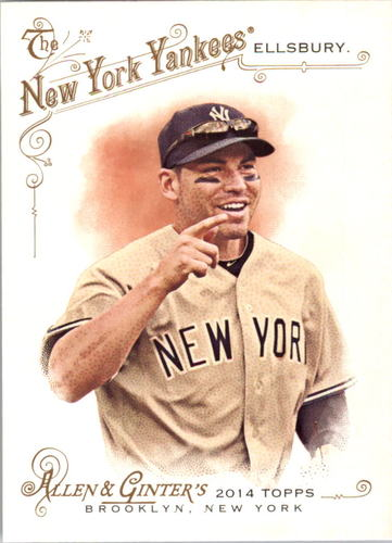 Photo of 2014 Topps Allen and Ginter #139 Jacoby Ellsbury