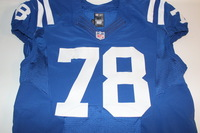 STS - COLTS RYAN KELLY GAME WORN AND SIGNED COLTS JERSEY (NOVEMBER 20, 2016) JERSEY WASHED BY EQUIPMENT MANAGER