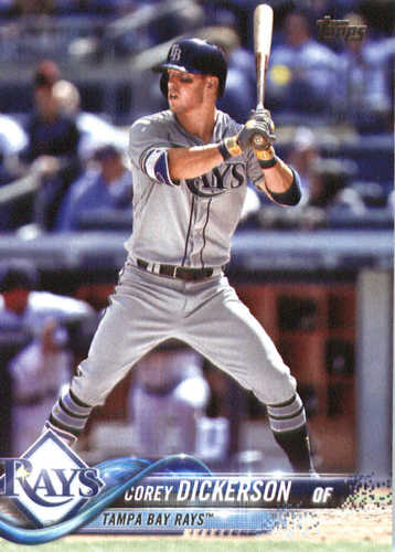 Photo of 2018 Topps #227 Corey Dickerson