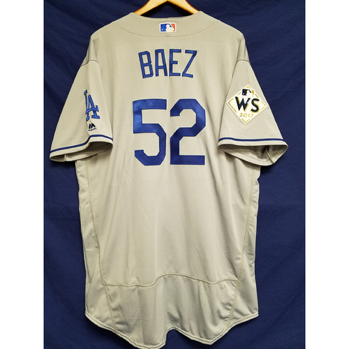 Pedro Baez 2017 Road World Series Team-Issued Jersey